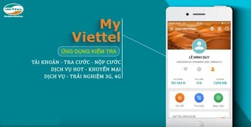 Kiểm tra lịch sử cuộc gọi bằng My Viettel